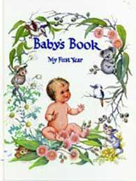 Baby's Book My First Year - White