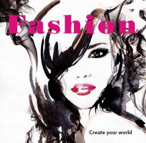 Colouring In  Book - Fashion