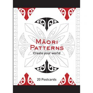 Colouring In Postcards- Maori Patterns