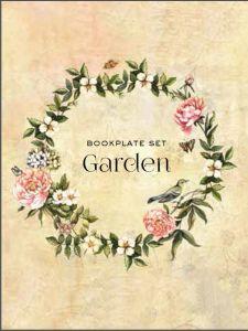 Bookplate set - Garden