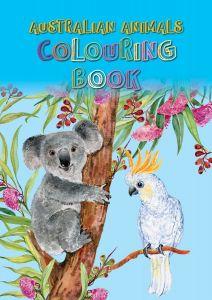 Australian Animals Colouring Book