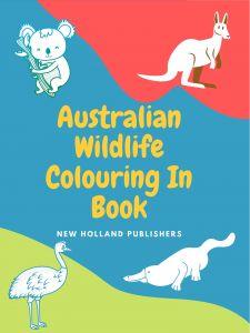 Australian Wildife Colouring In Book