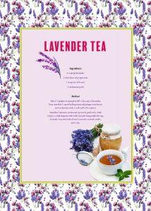 Lavender Tea - Tea Towel