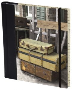 Travel Journal-Suitcase on Trolley
