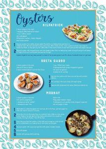 Oysters - Tea Towel