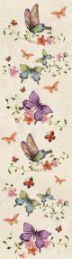 Tasseled Bookmark Colourful Butterflies