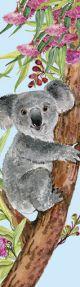 Tasseled Bookmark Koala Hanging