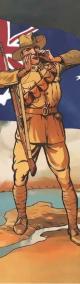 Australian Soldier - Bookmark