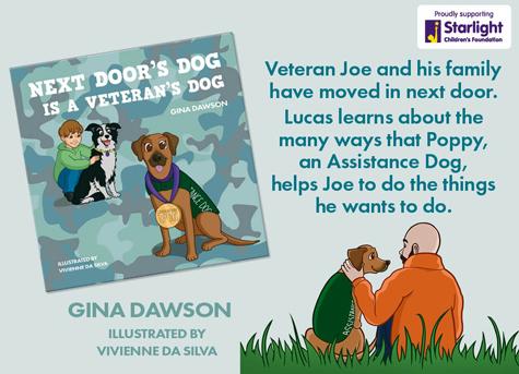 Next Doors Dog is a Veterans Dog